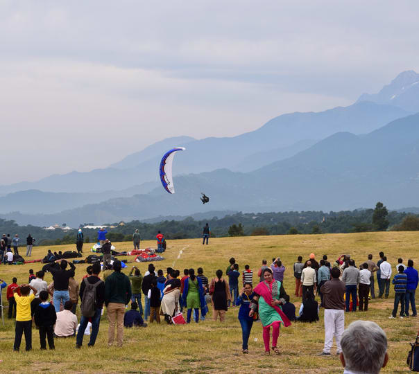 North Indian City Tour with Paragliding