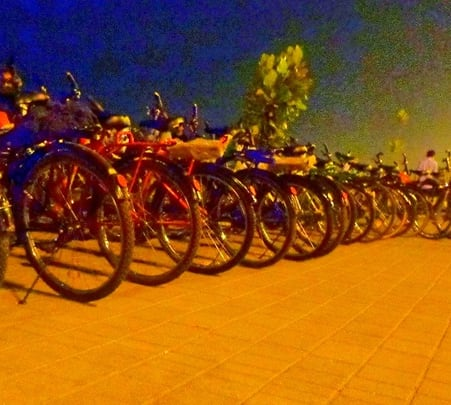 Mumbai Midnight Cycling Trip