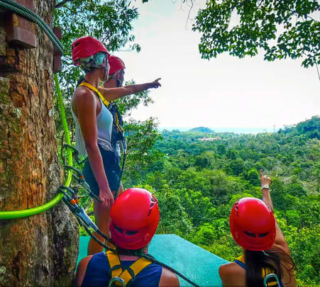 Langkawi Zipline Adventure Tour, Flat 18% off