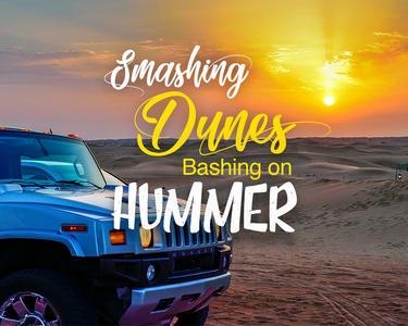 Hummer Desert Safari in Dubai - Flat 10% off