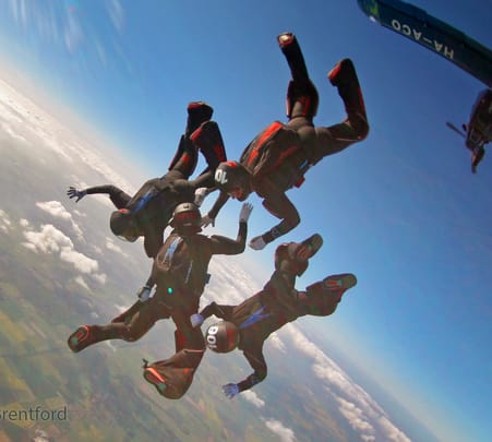 Sky Diving at Nong Kho in Pattaya