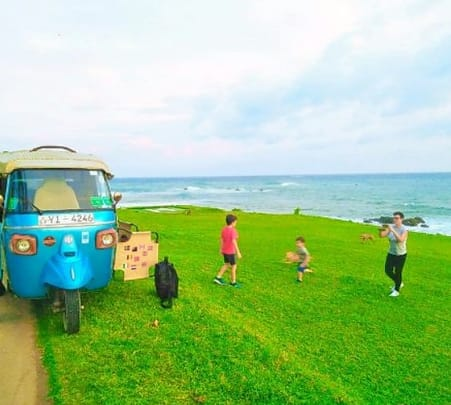 Beach Tuk - Tuk Safari Galle Flat 25% off