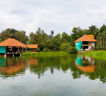 Fishing Camp in Coorg
