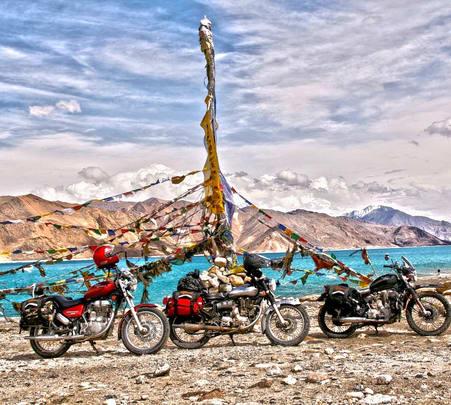 Bike Trip to Leh Via Manali