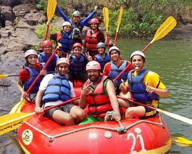 Camping and Rafting at Kolad @ 2250 Only