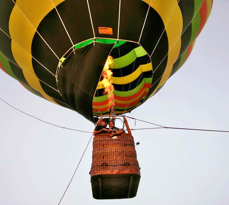 Tethered Hot Air Ballooning Experience