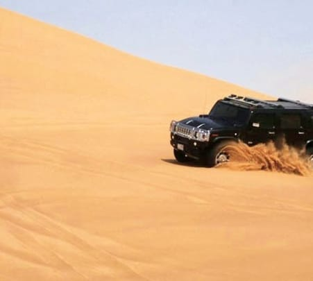 Hummer Safari in Dubai