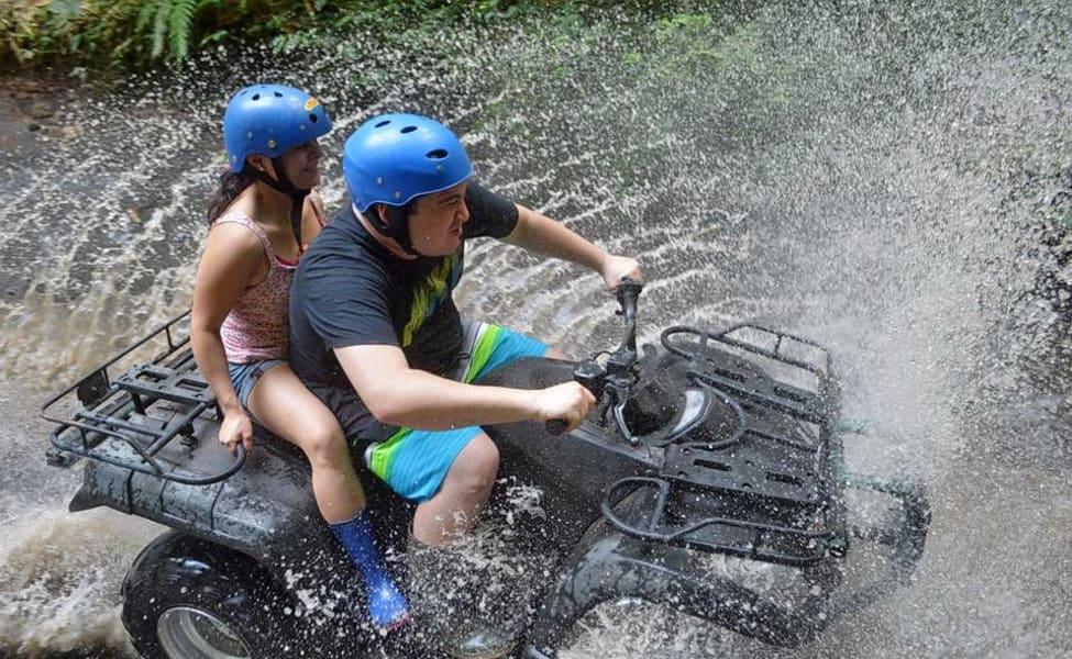 Atv Ride In Ubud At Bali
