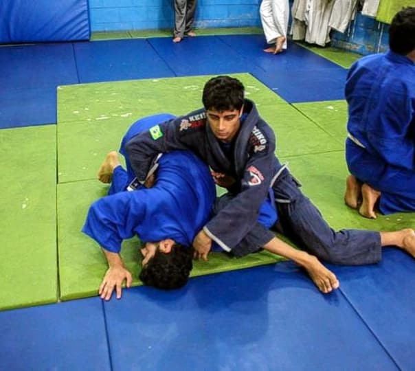 Thrilling Jiu-Jitsu Session