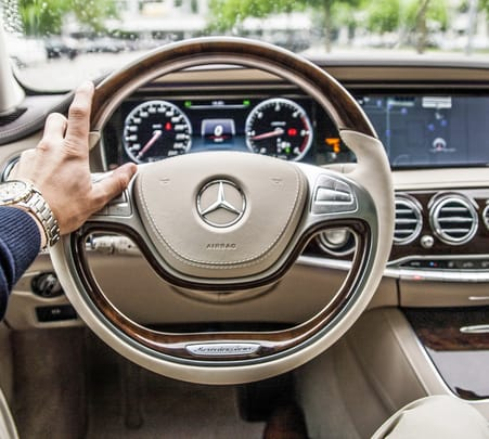 Rent a Mercedes S Class in Mumbai