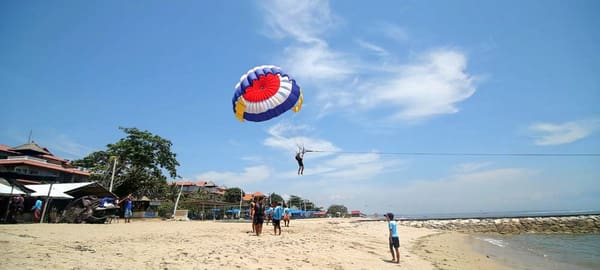 Experience Parasailing in Bali