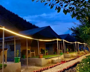 Serene Camping in the Lap of Nature, Kasol