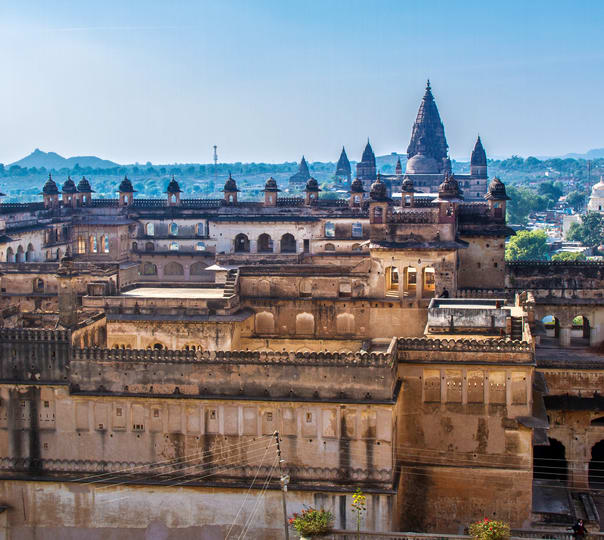 Sightseeing Tour of Orchha and Khajuraho