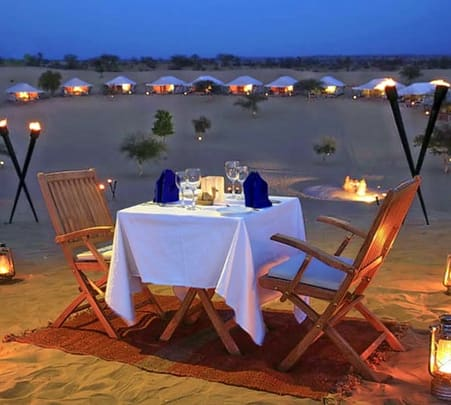 Dinner in the Desert Dubai Flat 20% off