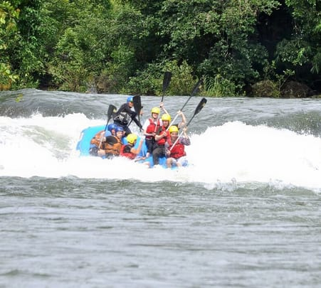 White Water Rafting in Barapole