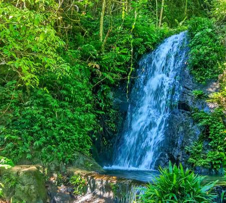 Adventure Hike to Tai Mo Shan Waterfall, Hong Kong
