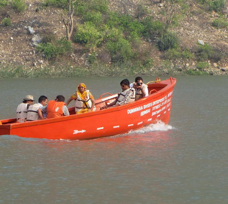Motor Boating at Alwar