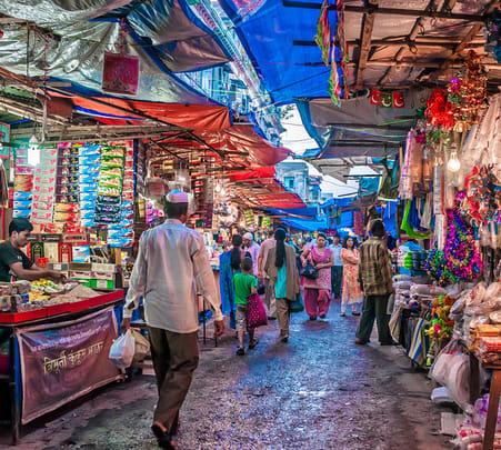Market Tour in Mumbai