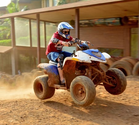 Adventure Park Ticket and Motocross Dirt Biking (Honda/Yamaha YZ) in Kunegaon, Lonavala