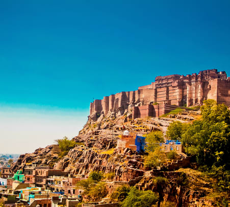 Udaipur Jaisalmer Sightseeing Tour with Jodhpur