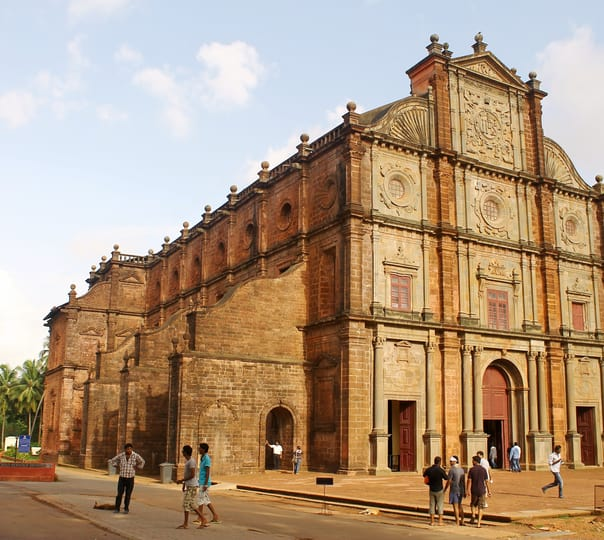 Sightseeing trip to Churches, Temples and a Boat Cruise at Goa