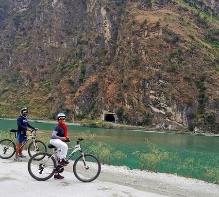 Mountain Biking in Spiti
