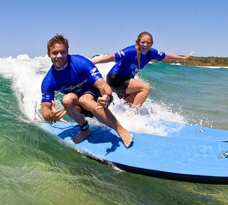 Surfing and Sightseeing Tour in Byron Bay