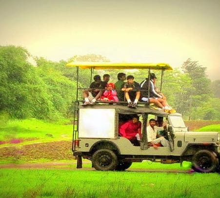 Adventure Activities at Amba Ghat