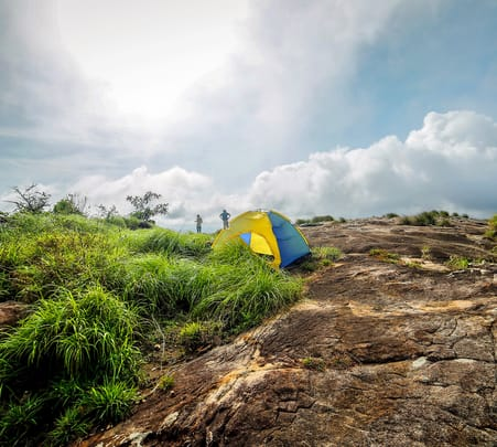 Camping with Trekking and Jeep Ride at Wayanad