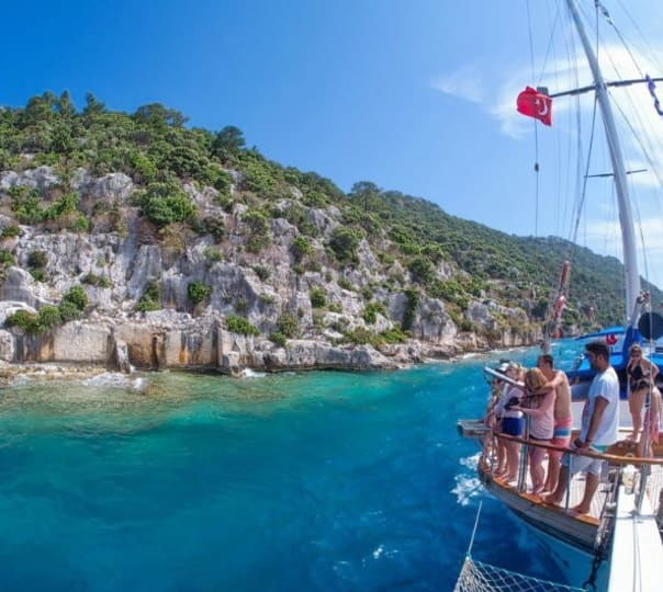 Gulet Cruise to Olympos - 4 Days