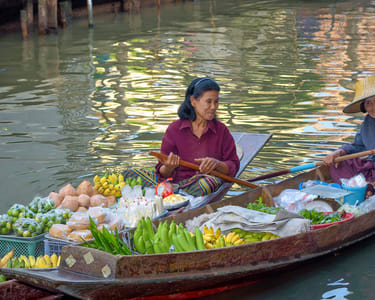 Pattaya Floating Market Admission Ticket - Flat 25% off