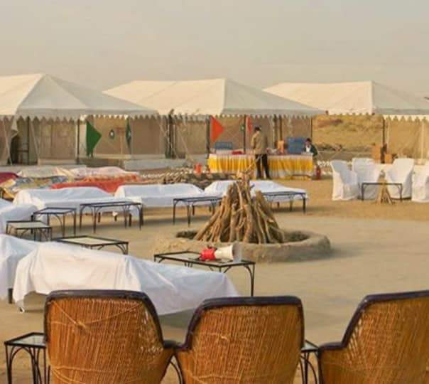 Luxury Desert Camping in Khuri with Camel Safari