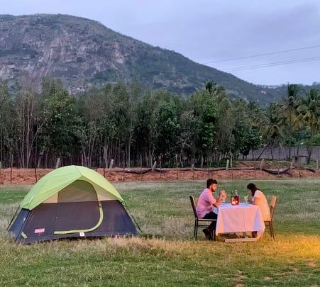 Nandi Hills Drive in Camp