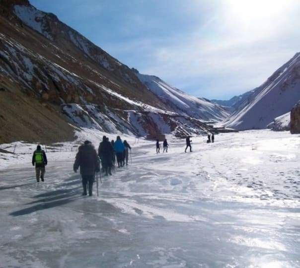 Chadar Trek - Frozen River Zanskar Trek - 2018, Ladakh
