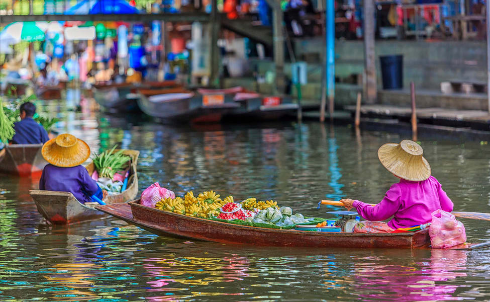 Bangkok Floating Market Day Trip Flat 35% Off | Thrillophilia