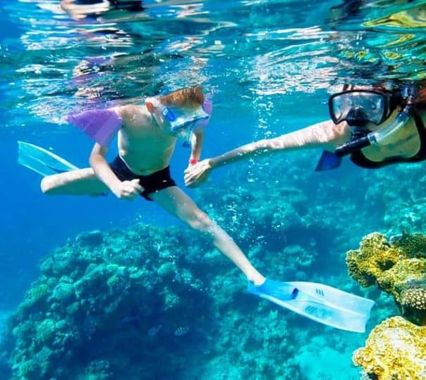 Snorkeling at Pattaya