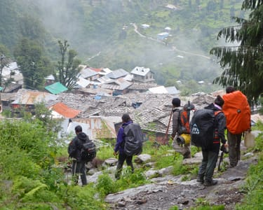 Trek and Camp at Malana
