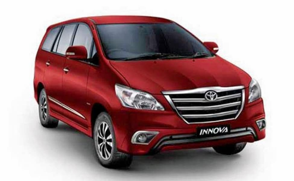 Innova Car Rental In Goa
