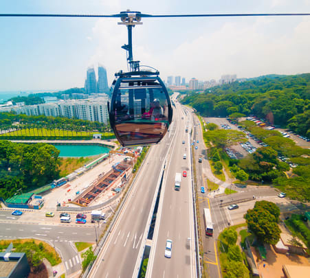 Combo: Singapore Cable Car with Wings of Time Flat 15% off