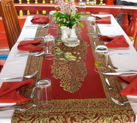 Romantic Dinner Cruise by Rice Barge in Bangkok