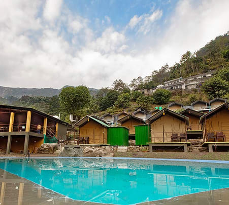 Camping with Swimming Pool in Rishikesh