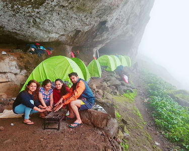 Camping and Rappelling with Harishchandragad Trek in Malshej Ghat @ 1720 Only