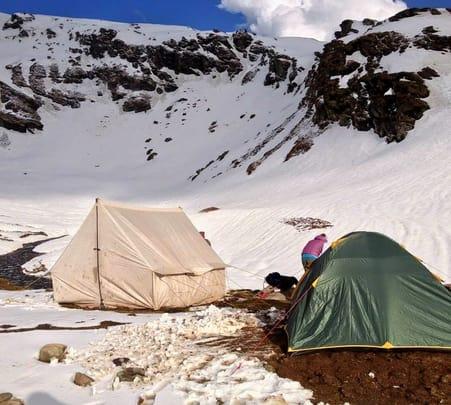 Trek to Bhrigu Lake