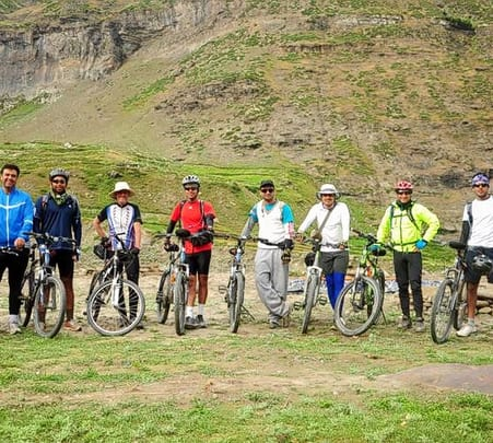 Himalayan Mountain Biking Expedition, Manali 2019