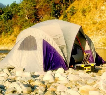 Stay at Corbett Riverside Resort In Nanital