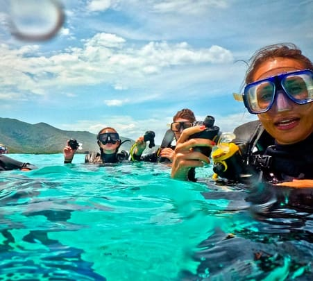 Scuba Diving at Nha Trang in Vietnam