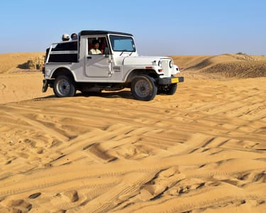 Overnight Jeep Safari With Camping in Jaisalmer Flat 68% Off
