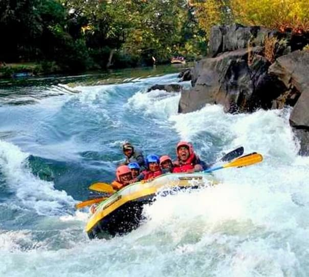 White Water Rafting Adventure at Kolad