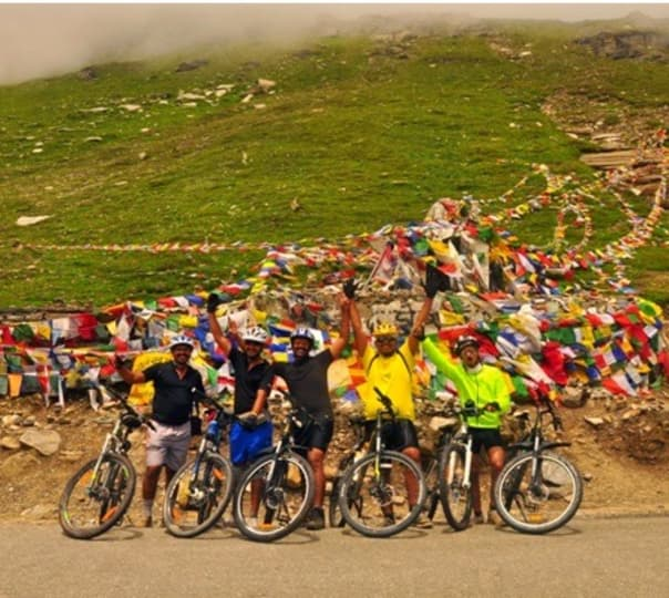 Manali to Leh Cycling Trip