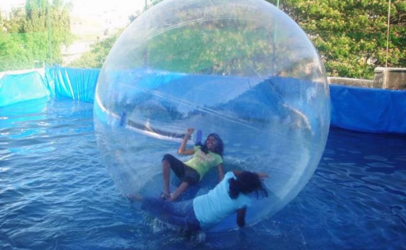 water zorbing in bangalore thrillophilia